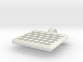 raum für notizen pendant (ver.2) in White Natural Versatile Plastic