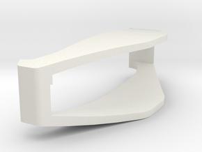 V3   side clip in White Natural Versatile Plastic