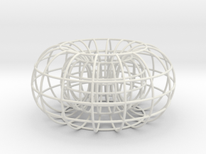 Torus small in White Strong & Flexible