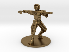 Adran, Elven Ranger 1:54 scale in Natural Bronze