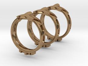 EagleJet RH Ring in Natural Brass