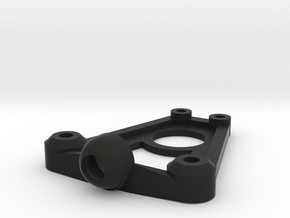 Mini-z Tri-damper Shock Mount v5 in Black Natural Versatile Plastic