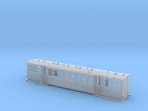 Wismarwagen der MPSB in H0f (1:87) in Smooth Fine Detail Plastic
