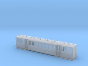 Wismarwagen der MPSB in Nf (1:160) in Smooth Fine Detail Plastic