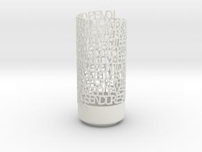 loveis13:4 in White Natural Versatile Plastic