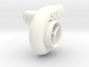 Custom Turbo (SCIC) in White Strong & Flexible Polished