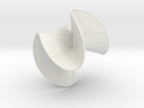 Cubic Surface KM 31 in White Strong & Flexible