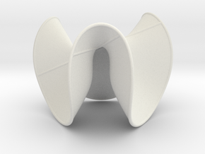 Cubic Surface KM 16 in White Strong & Flexible
