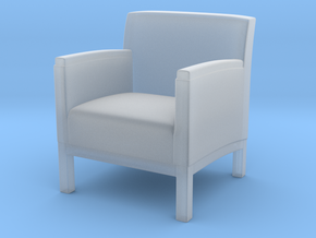 1:10 Scale Model - ArmChair 03 in Smooth Fine Detail Plastic