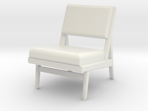 1:24 Jen Chair 1 in White Natural Versatile Plastic