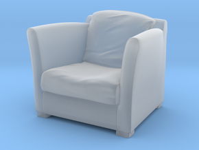 1:10 Scale Model  - ArmChair 04 in Smooth Fine Detail Plastic
