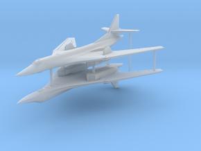 1/600 Tupolev Tu-160 (x2) in Smooth Fine Detail Plastic