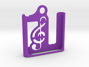 iPod Nano 6th gen. | Keychain Case in Purple Strong & Flexible Polished