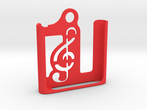iPod Nano 6th gen. | Keychain Case in Red Processed Versatile Plastic