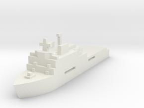 Dutch, LPD Rotterdam L800 in White Natural Versatile Plastic