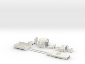 GP38 2 Components Only O Scale in White Natural Versatile Plastic