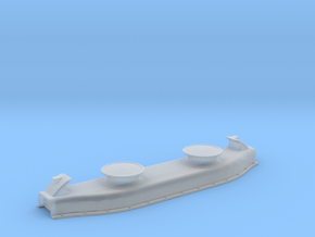 Titanic Double Fairlead - Scale 1:100 in Smooth Fine Detail Plastic
