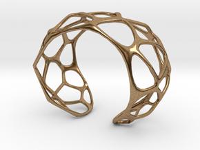 Exteriority Bracelet in Natural Brass: Small