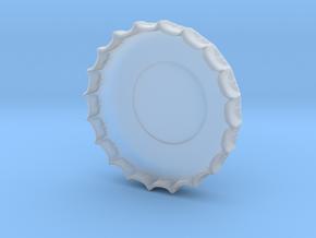 cokebottleCap in Smooth Fine Detail Plastic
