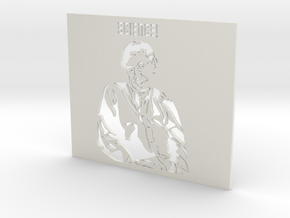 Professor Stephen Hawking SCIENCE! - Stencil in White Natural Versatile Plastic