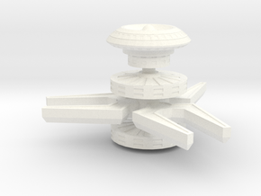 Mentok Vanora Cardassian Outpost in White Strong & Flexible Polished