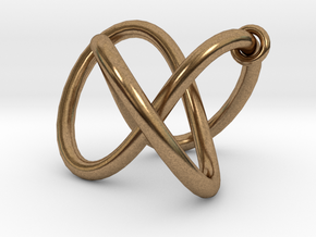 Endless movement - all materials in Natural Brass