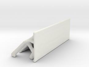 Shelf-120-40-40-18-skin in White Natural Versatile Plastic