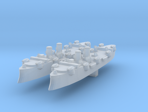 USS Baltimore (C-3) 1:4800 x2 in Smooth Fine Detail Plastic