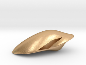 Floating Pendant. Smooth Shaped for Perfect Comfor in Natural Bronze