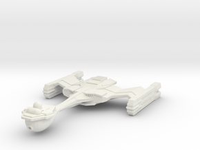 Starbarian C3 Assassin Class Cruiser in White Natural Versatile Plastic