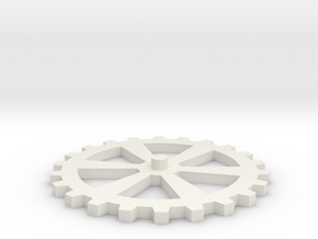 Additional Cog/Gear for Clockwork iPhone Ca in White Strong & Flexible