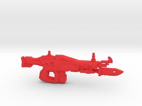 Blood Lust in Red Processed Versatile Plastic