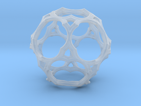 Simple Cage Fractal U16 in Smooth Fine Detail Plastic