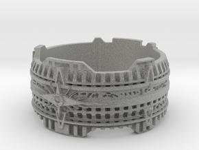 Star Gate Ring, Size 10 Ring Size 10 in Metallic Plastic