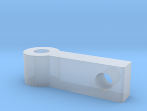 Bar in Smooth Fine Detail Plastic