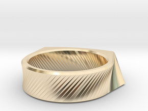 Qx2 - Ring / Size 8 in 14K Yellow Gold