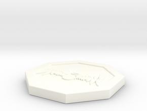 """Octogon - 2"""" Celestial in White Processed Versatile Plastic"""