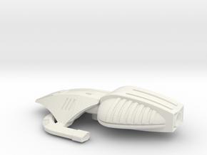 Gamma Raider ML in White Natural Versatile Plastic