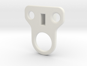 clip l in White Natural Versatile Plastic
