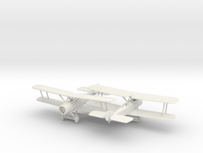1/144 Sopwith 1 1/2 Strutter x2 in White Natural Versatile Plastic