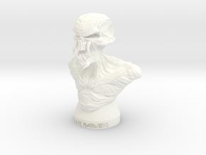 Iron Maiden Kranium in White Processed Versatile Plastic