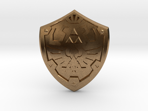 Royal Shield III in Natural Brass
