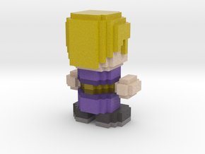 Cube World Person in Full Color Sandstone