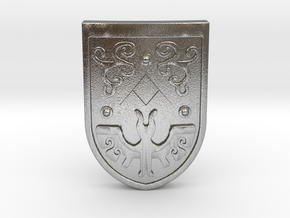 Toon Hero's Shield in Natural Silver