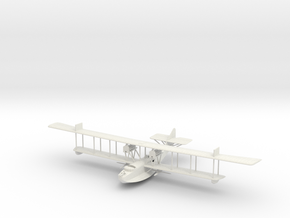 1/144 or 1/100 Felixstowe F.2a Early Model in White Natural Versatile Plastic: 1:144