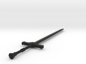 Silver Great Sword in Black Strong & Flexible