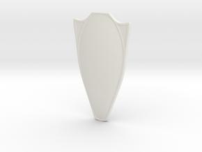 Death Dealer's Shield for Minimate in White Natural Versatile Plastic