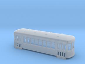 N gauge short trolley City car 8 window in Smooth Fine Detail Plastic
