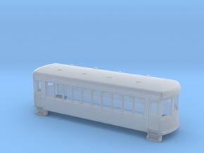 N gauge short trolley car  in Smooth Fine Detail Plastic