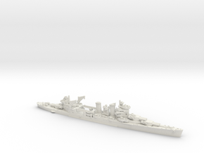 USN CA New Orleans [1942] in White Natural Versatile Plastic: 1:1800